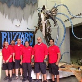 T3 Blizzard Entertainment Gaming Statues
