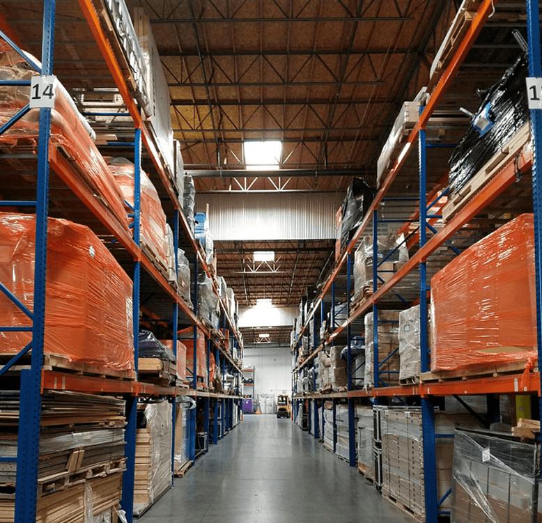 Warehousing | Trade show transportation